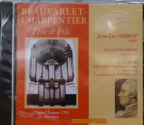 CD Beauvarlet-Charpentier, orgue de Clicquot Souvigny